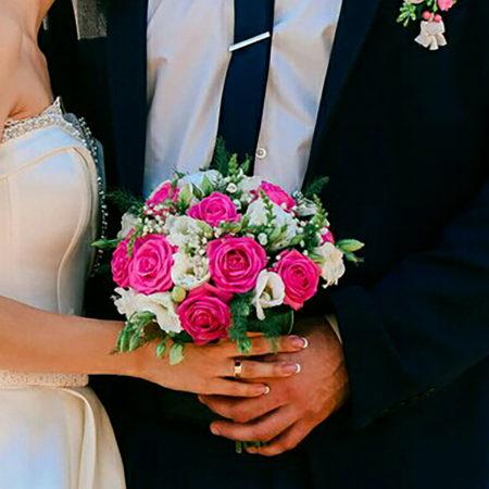 Букет невесты 03