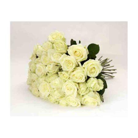 Букет из 31 розы сорт Аваланж №45