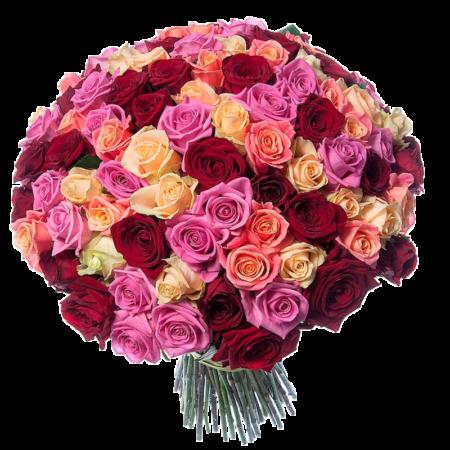 Букет из 101 розы №64