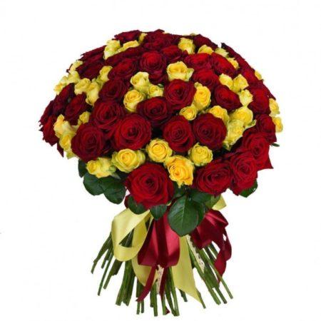 Букет из 101 розы №66