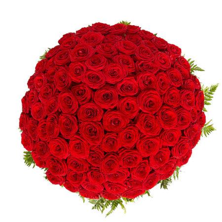 Букет из 101 розы №69