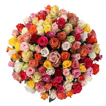 Букет из 101 розы №71