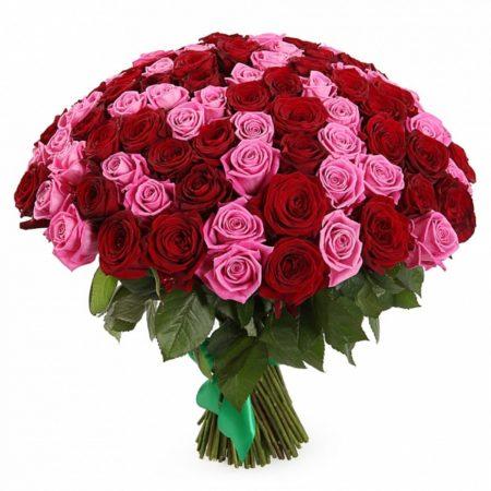 Букет из 101 розы №72
