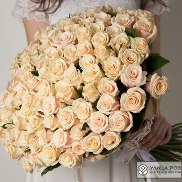 Букет Роз сорт Талея 101 штука №36